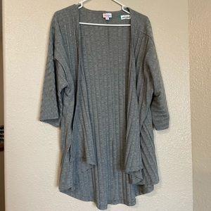 🎄Bundle🎄LuLaRoe Open Front Gray Cardigan Large